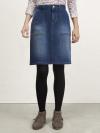 Carpenter Denim Skirt