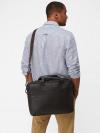 Monty Leather Laptop Bag