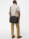 Monty Leather Messenger Bag