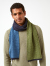 Daniel Wool Colourblock Scarf
