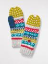Amelia Fairisle Flip Mit Glove