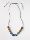 Small Speckle Ceramic Necklace