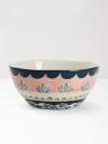 Pink Scallop Decorative Bowl