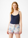 Patchwork Floral Short