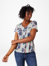 May Linen Button Tee