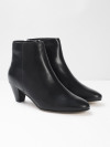 Zadie Point Leather Boots