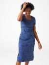 Jennie Print Midi Dress