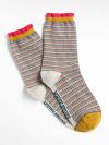 Fiona Fine Stripe Single Sock