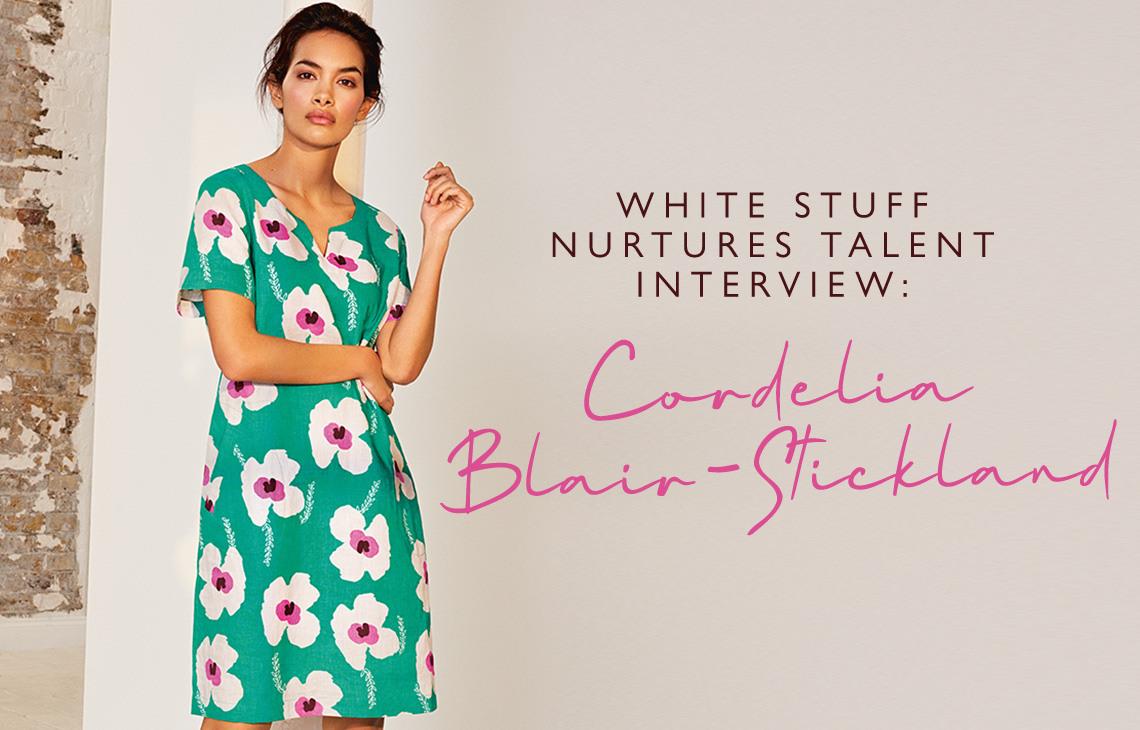 Cordelia Blair-Stickland interview