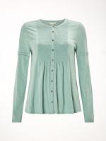 Artisan Shirring Jersey Shirt