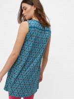 Tile Pattern Jersey Tunic