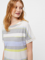 Sally Stripe Jersey Nightie