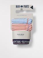 Multi Stripe Boxer Double Pack