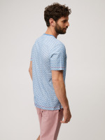 Wave Bay Pointed Stripe Tee