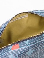 Coloured Quarters Make Up Bag