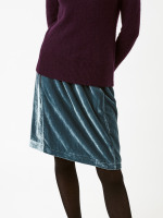 Cleo Soft Velvet Skirt