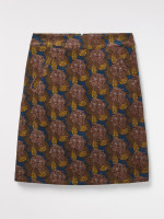 Olly The Owl Velvet Skirt