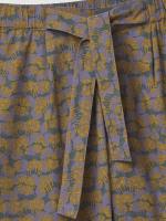 Flora Poplin Print Trouser