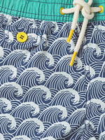 Fordy Wave Print Swim Short