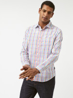 Any-wear Multi Check Shirt