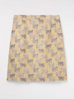 Safari Linen Skirt