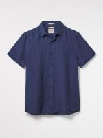 Lymington Short Sleeve Linen Shirt