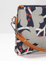 Floral Coated Canvas Pouch