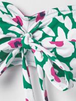 Poppy Floral Bandeau Top