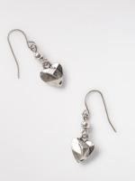 Origami Heart Earring