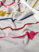Heart & Stripe Scarf