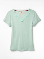 Short Sleeve Holly Lace Tee
