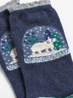 Snowglobe Sparkle Sock