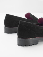 Lucy Suede Loafer