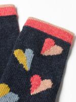 Paper Hearts Fingerless Gloves