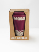Barber Print Eco Coffee Mug