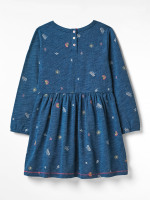 Pop Spot Jersey Dress