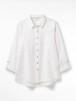 Amelie Embroidered Linen Shirt