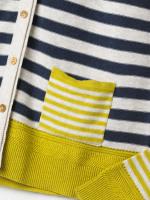Sketch Organic Cotton Stripe Cardi