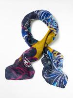 Wasabi Square Silk Neckerchief