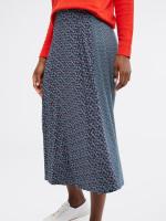 Flower Bud Jersey Skirt
