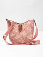 Carrie Printed Canvas Crossbody