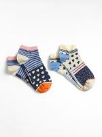 Hotch Potch Trainer Sock 2 Pack