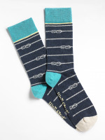 Nautical Stripe Sock