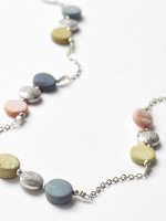 Metal Mono Stationed Necklace