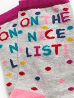On The Nice List Sock