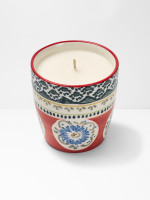 Coral Decorative Candle