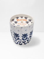 Mono Flower Candle