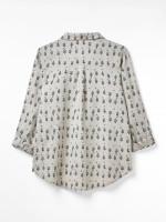 Amelie Printed Linen Shirt