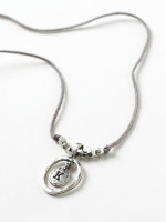 Alphabet Letter Necklace K