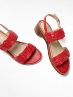 Libby Low Block Heel Sandal
